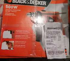 Walmart: Taladro Percutor Black and Decker a $90.01