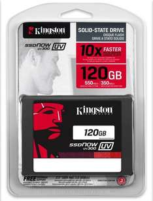 Linio: Disco duro de Estado Sólido Kingston SSD NOW V300 120GB SUV300S37A