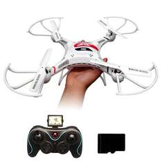 AMAZON: DRONE con Cámara JJRC H8C 2.4G 4 canales 6 Axis RC Quadcopter Con 2MP cámara RTF (Blanco)
