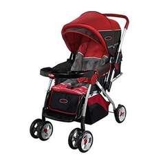 AMAZON: Carriola Baby Stroller MyToy Facil Plegado Toldo Ajustable - Rojo