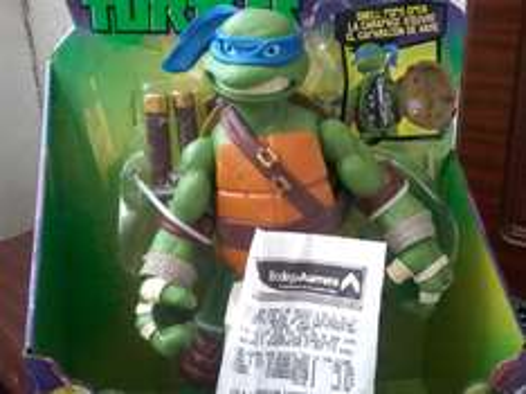 Bodega Aurrerá  Hilario Medina Leon Gto.: Tortuga Ninja de $690 a $195.03
