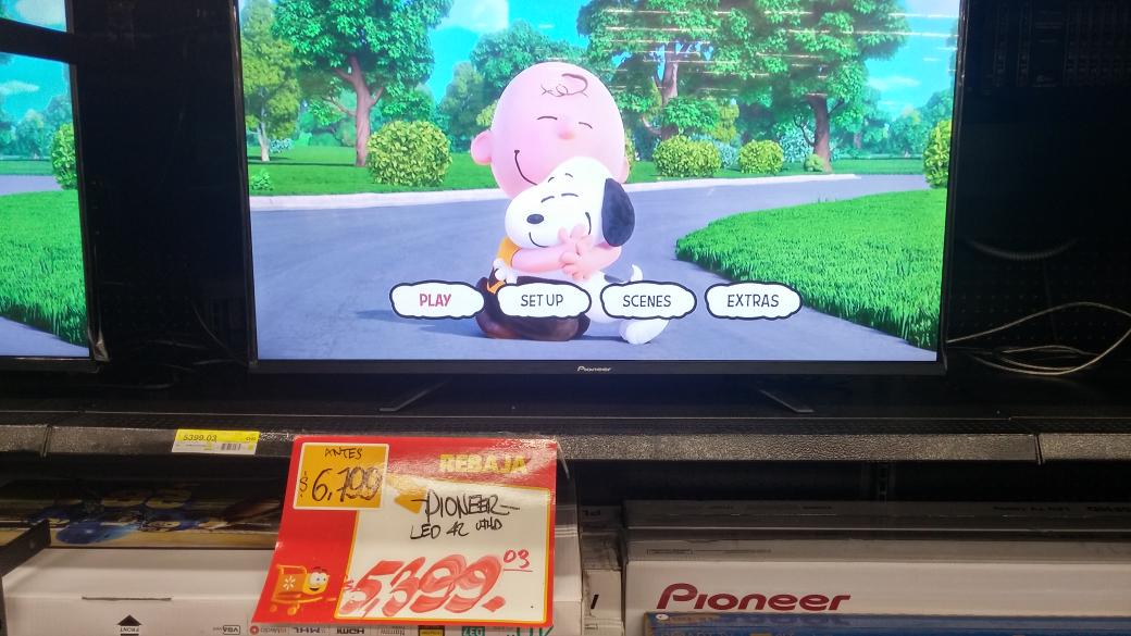 """Walmart: TV Pioneer 42"""" 4k con un precio mejorado a $5,399"""