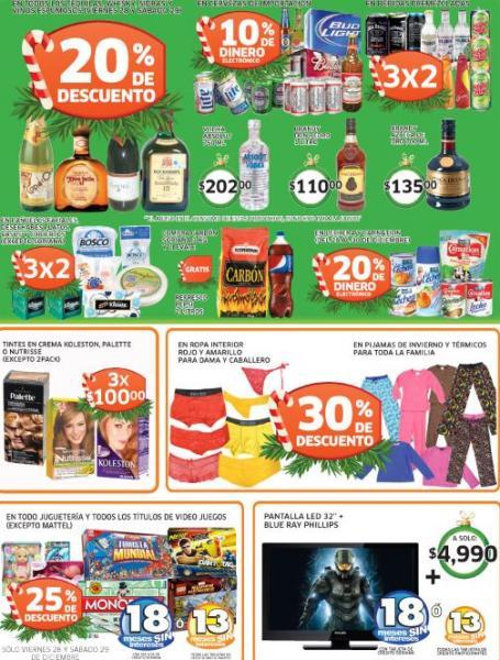 Soriana: 25% de descuento en todos los videojuegos y juguetes, 20% en whiskys y tequilas y +