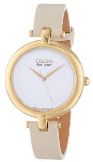 AMAZON: Citizen 60423 Reloj Análogo para Mujer, Color Blanco