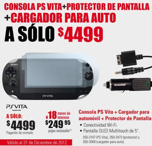 RadioShack: blu-ray LG $999, accesorios gratis comprando PS Vita y más