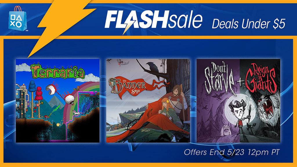 PSN: Flash Sale de Mayo, Juegos a menos de $4.99 dólares