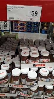 Sam's Club Mérida Itzaes: Nutella 750g a $39