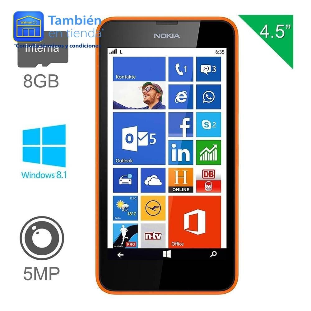 Walmart en línea: Lumia 635 LTE a $899