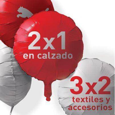Puma: 2x1 en calzado y 3x2 en accesorios y ropa