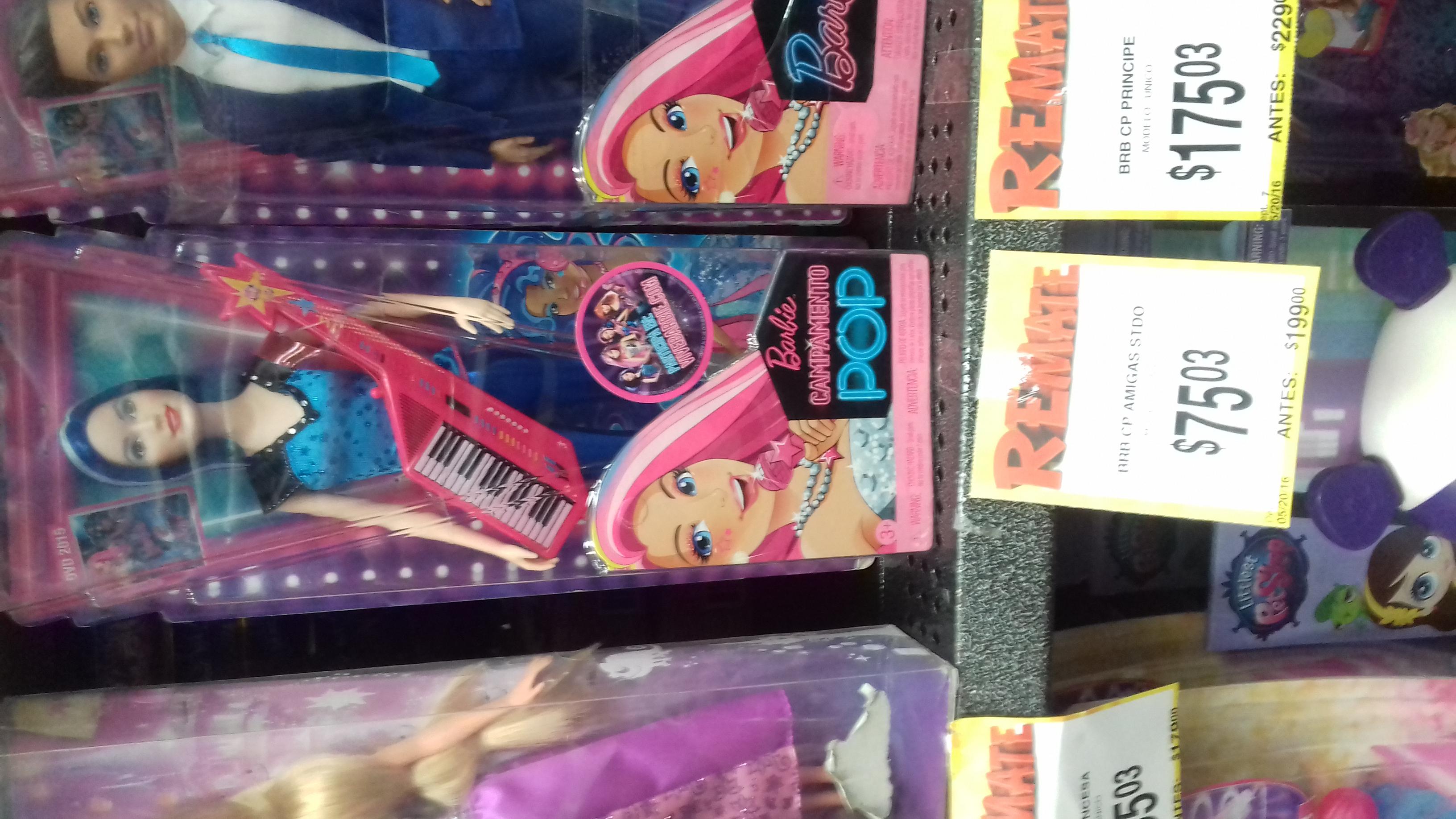Bodega Aurrerá: Amigas Barbie campamento pop de $199.00 a $75.03