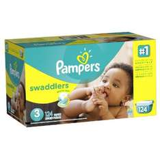 Amazon México: Pampers Swaddlers, Unisex, Talla 3, 124 Pañales a $417