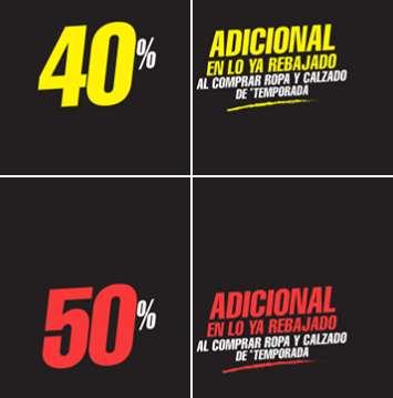 Martí: 40 ó 50% de descuento extra al compra algo de temporada