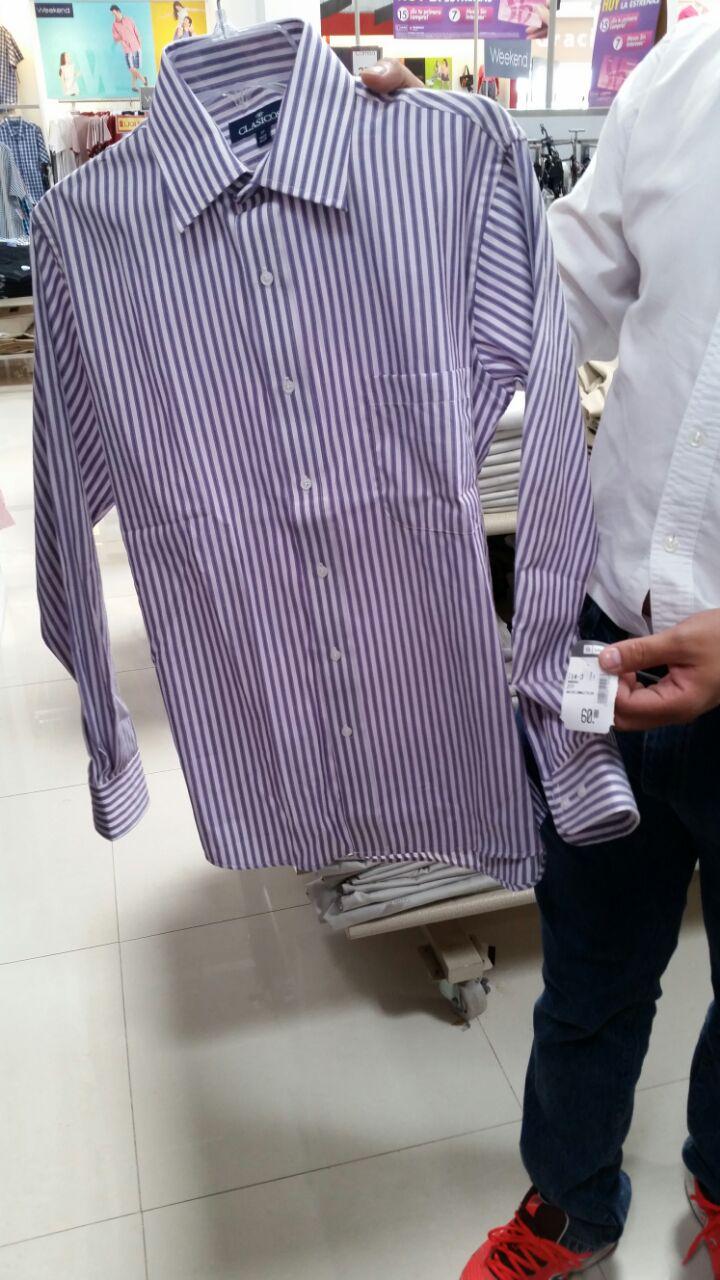 Suburbia: camisas en liquidacion a $62