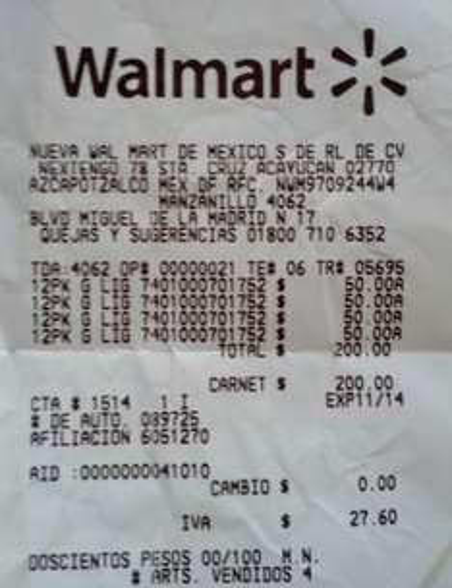 Walmart: 12 cervezas de 350ml por $50