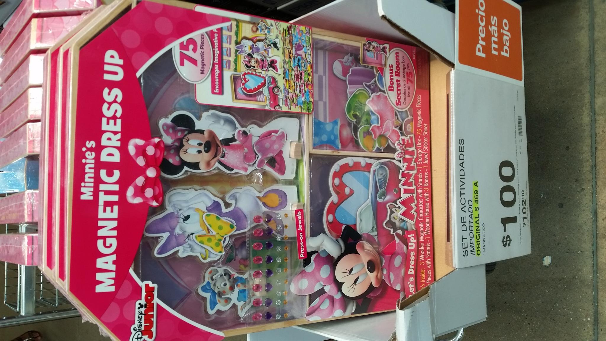 Sam's Club Coatzacoalcos: set magnético de actividades Disey o Princesas de $469 a $100 pesos