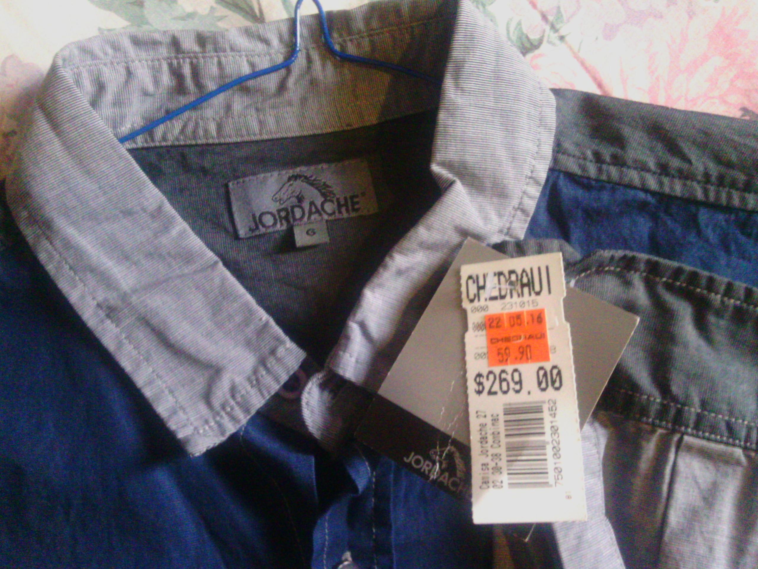 Chedraui Coapa: Camisas Jordache a $59.90