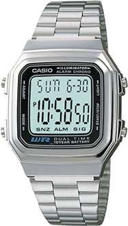 Amazon: Casio Vintage A178WA-1ACF Reloj Digital Unisex  a $329