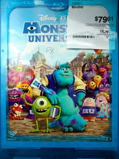 Sam's Club Gran Patio Tlaxcala: Monster's University BR+DVD a $79.01