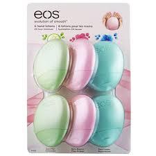 Sam's Club en línea: Hand lotion EOS c/6 piezas o Lip balm EOS c/4 piezas a $99