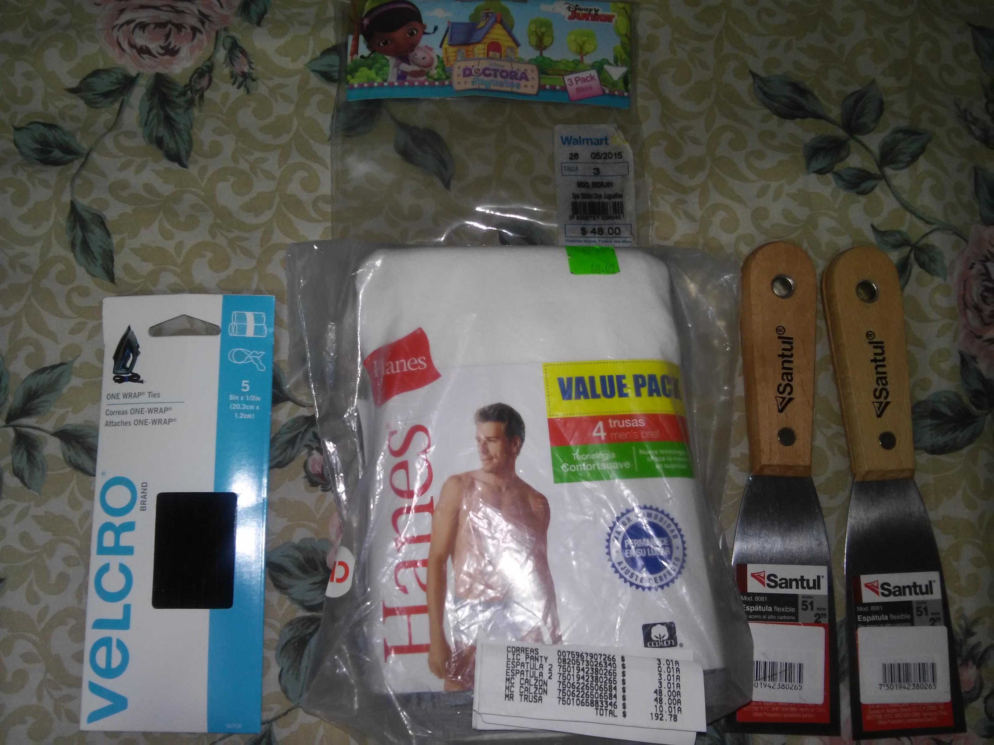 Walmart Miramontes: 4 Trusas Men's brief Hanes y mas!!!