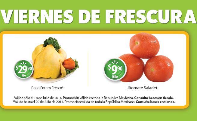 Viernes de Frescura Walmart y de carnes en Chedraui