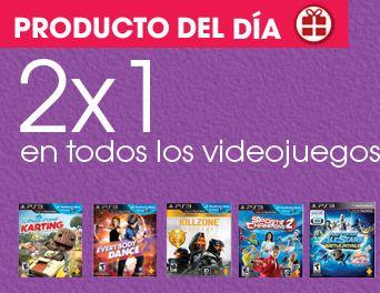 Sony Store: 2x1 en juegos seleccionados de PS3, PS2, PSP y PS Vita