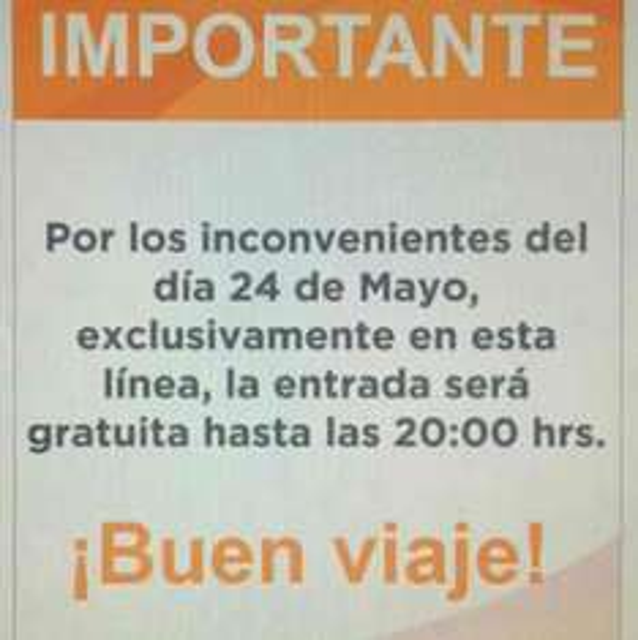 Metro CDMX: Linea 2 gratis hasta las 20hrs