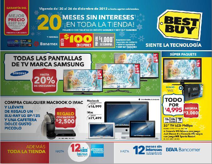 """Best Buy: laptop de 15.6"""" con i3 a $6,999, 20% menos en pantallas Samsung y +"""
