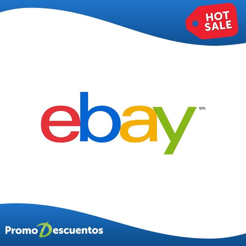 Hot Sale 2016 en eBay: cupón del 15% de descuento en toda la tienda
