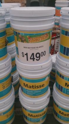 Bodega Aurrerá: cubeta de pintura de 18 Lts. a $149