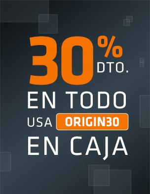 ORIGIN 30% de descuento en todo