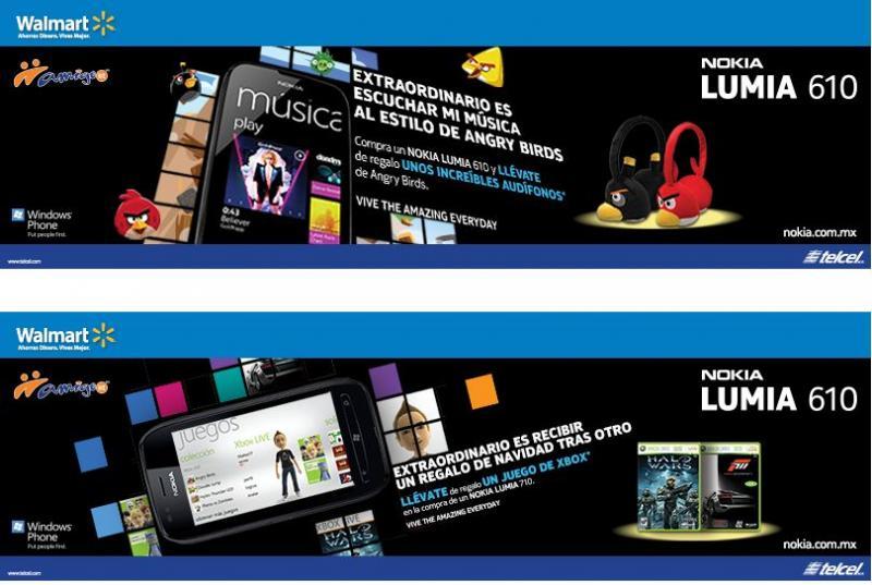 Nokia y Telcel: diferentes regalos comprando Lumia 610 ó 710