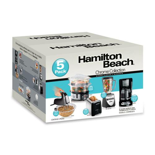 Walmart en línea: Combo Electrodomésticos Hamilton Beach 5 Piezas a $1,999