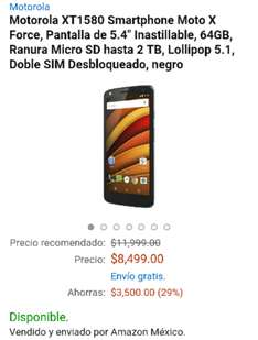 Amazon: Moto X Force XT1580