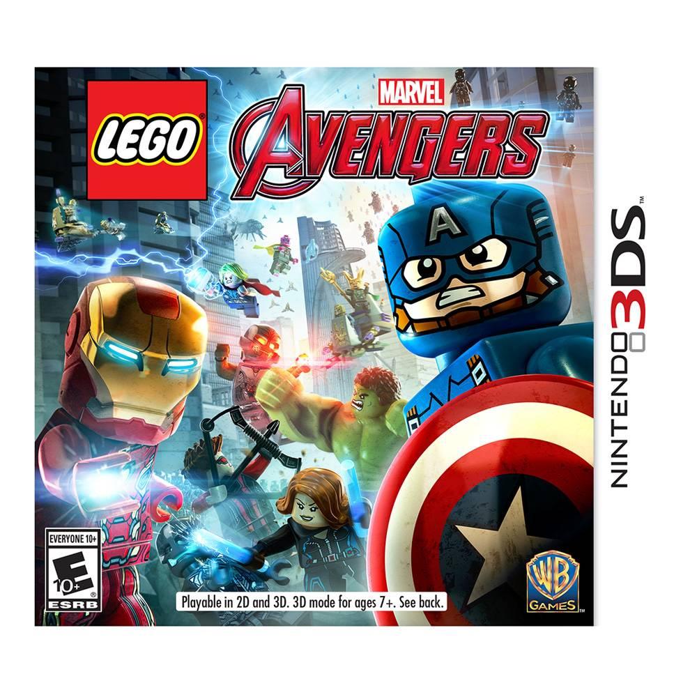 Walmart en línea: Juego Lego Marvel Avengers 3DS y Playstation Vita a $199