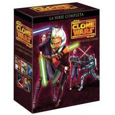 Amazon México: The Clone Wars, La Serie Completa en DVD