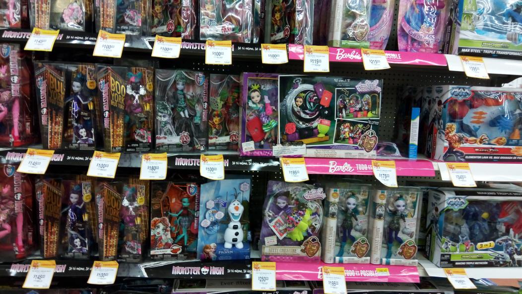 Walmart: Liquidación de peluches y juguetes