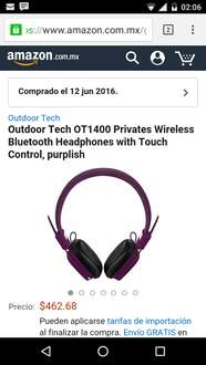 Amazon: Outdoor Tech OT1400 Privates Wireless Bluetooth en $678