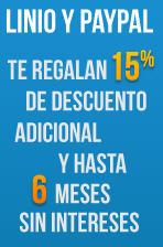 Linio: 15% de descuento y 6 MSI en toda la tienda con PayPal. Wii U, iPad, iPhone 5 y +