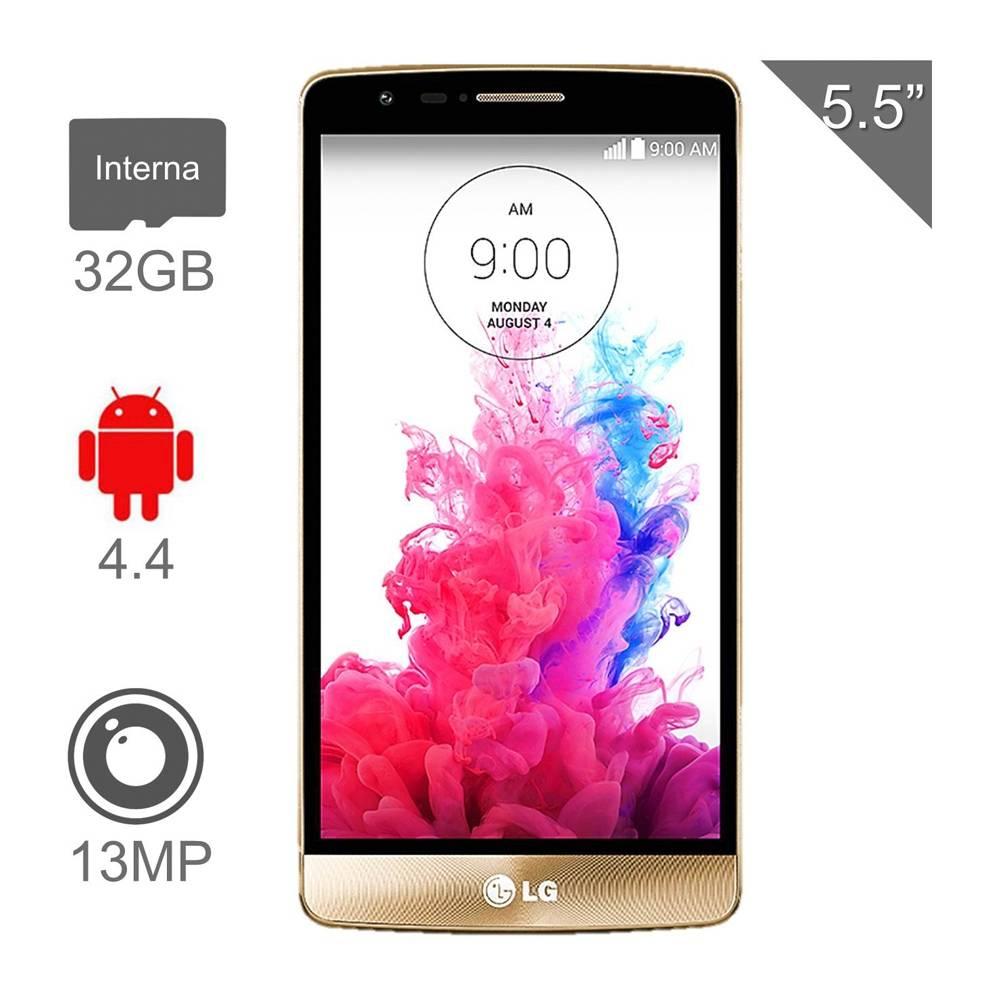 Walmart en línea: Smartphone LG G3 32 GB Dorado Desbloqueado