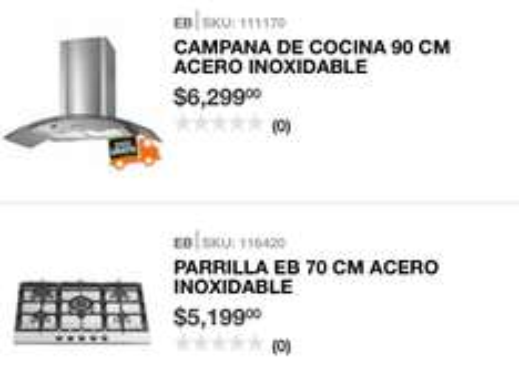 Home Depot en línea: combo parrilla y campana a $6,899