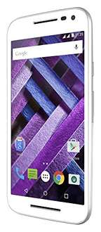 Hot Sale Amazon MX: Moto G Turbo BLANCO 16GB $3679 ($3,066 con Banamex)