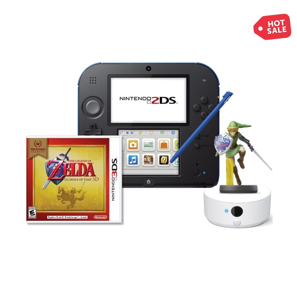 Hot Sale en Walmart: 2DS, Ocarina of Time, Amiibo Link y NFC Reader