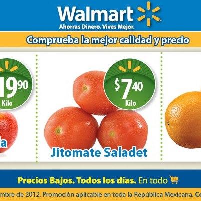 Martes de frescura Walmart diciembre 11: naranja $3.90, jitomate $7.40 y más