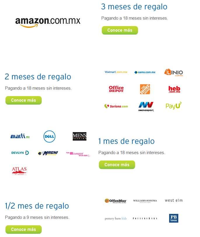 Promoción de Hot Sale Banamex: lista de tiendas con bonificación de mensualidades