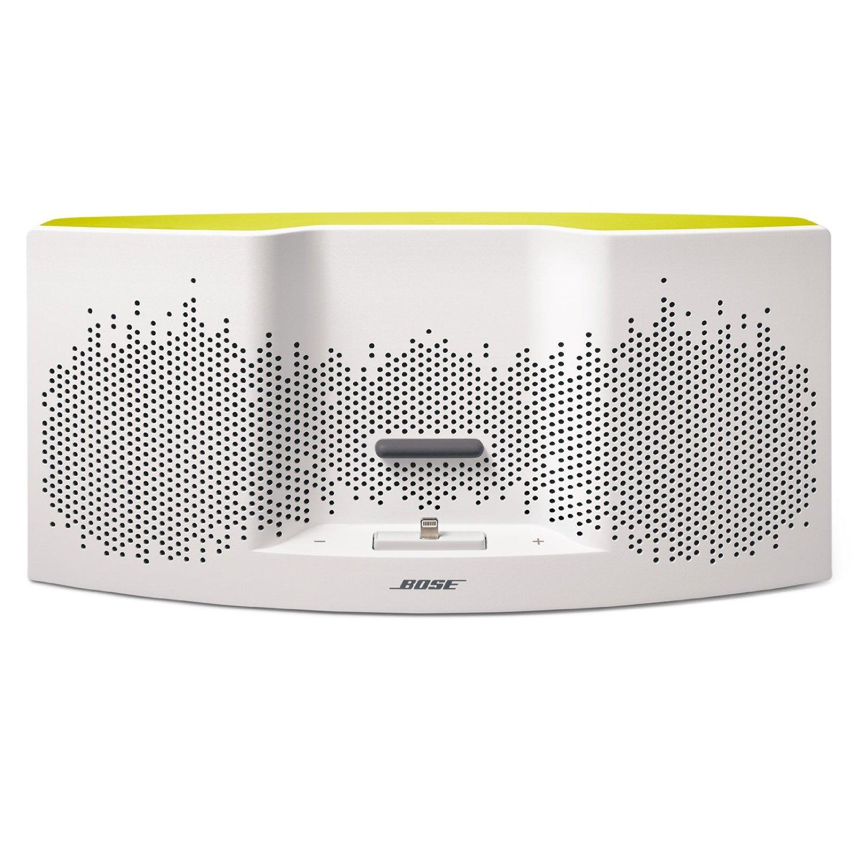 Ofertas Hot Sale Amazon: Bose SoundDock XT Bocina Portátil, blanco/amarillo