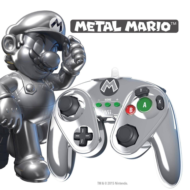 Hot Sale Amazon MX: Control Edición Especial Metal Mario para Wii/Wii U a $219
