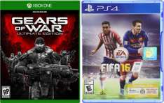 Ofertas Hot Sale Amazon: FIFA 16 PS4 $349, Xbox 360 $299 y GOW Ultimate Xbox One $429