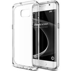 Ofertas Hot Sale Amazon: VRS Design 904418 Funda Crystal Mixx para Samsung Galaxy S7 EDGE, color Transparente