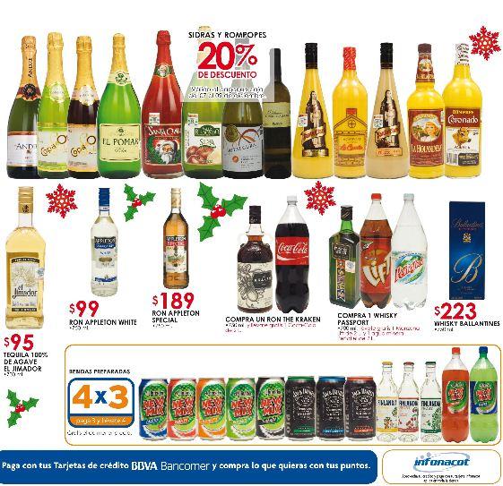 Chedraui: 50% de descuento en inflables navideños, 4x3 en bebidas preparadas y +